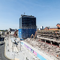 Rochdale 'Black Box' and Bus Station Demolition | 15 April 2014