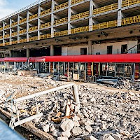 Rochdale 'Black Box' and Bus Station Demolition | 01 April 2014