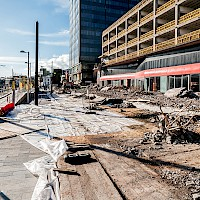 Rochdale 'Black Box' and Bus Station Demolition | 03 March 2014